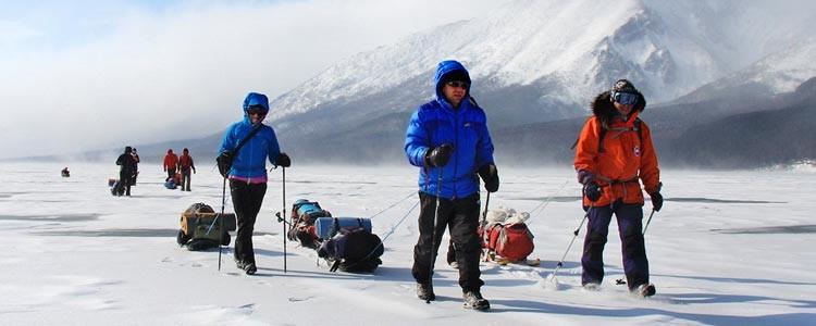 Байкал зимой. Активные туры по Байкалу