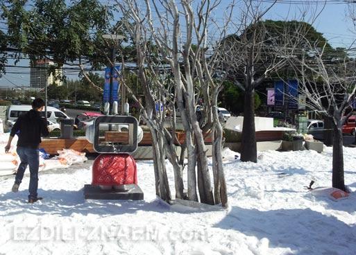 Первый снег в Тайланде