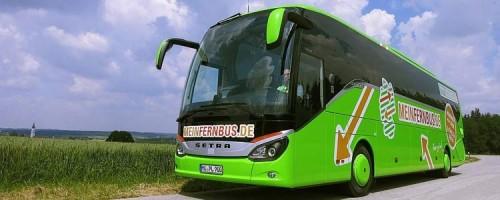 Недорогие автобусы Meinfernbus в Европе