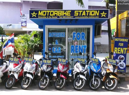 Аренда мотобайков в Тайланде (Паттайя)
