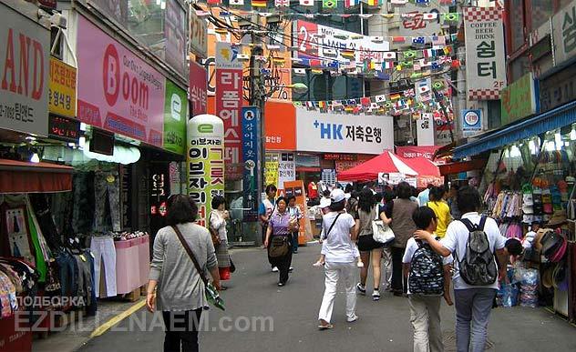 Шоппинг в Сеуле. Южн. Корея