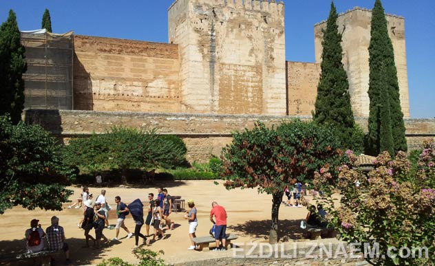 Экскурсия по Альгамбре в Гранаде