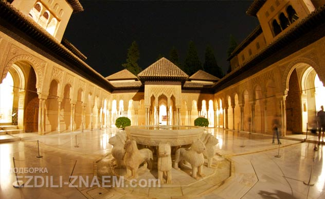 Главная достопримечательность Гранады - Альгамбра