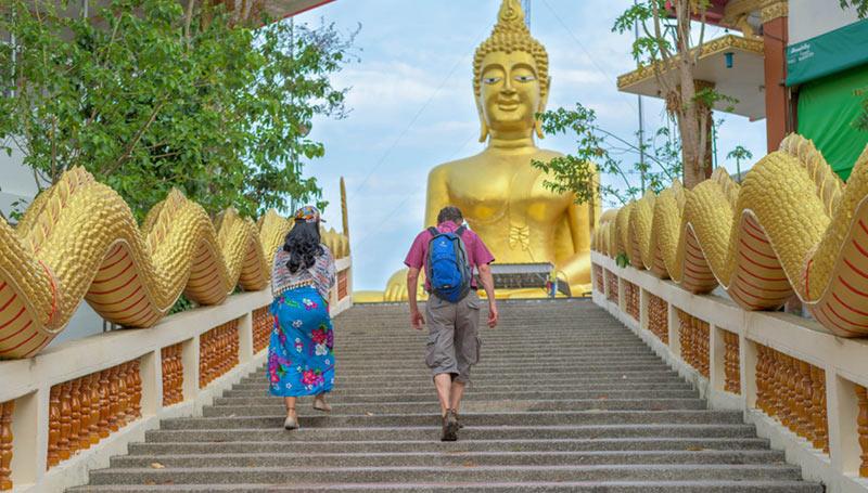 Туристы в Паттайе