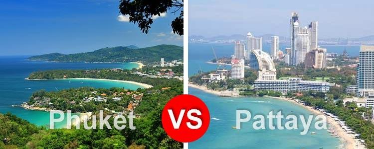 Что лучше: Паттая или Пхукет?