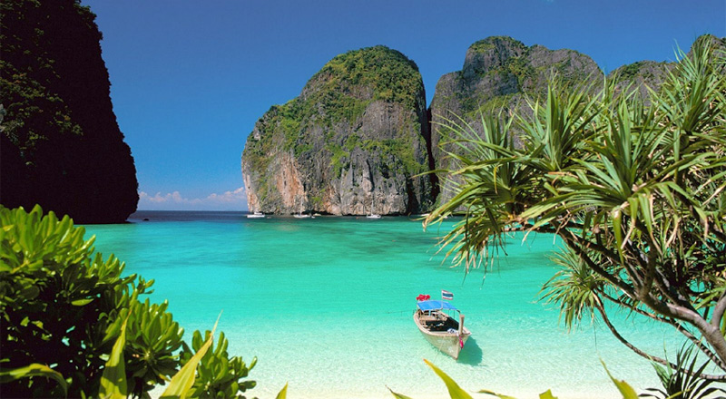 Остров Пи-Пи, бухта Майя