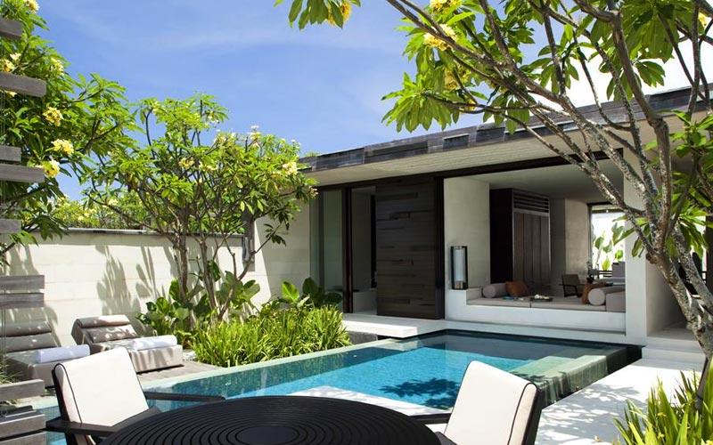 Alila Villas - вилла на Бали, Индонезия