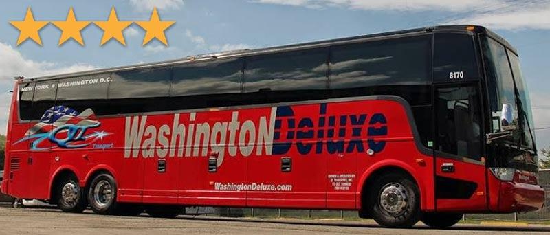 """Автобусы компании """"Вашингтон Делюкс"""""""