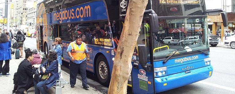 Автобус из Нью-Йорка в Вашингтон