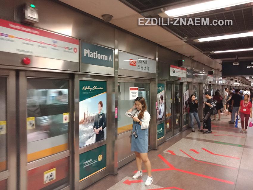 Как устроены станции метро в Сингапуре