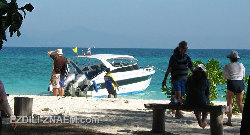 Морские экскурсии с Краби к островам