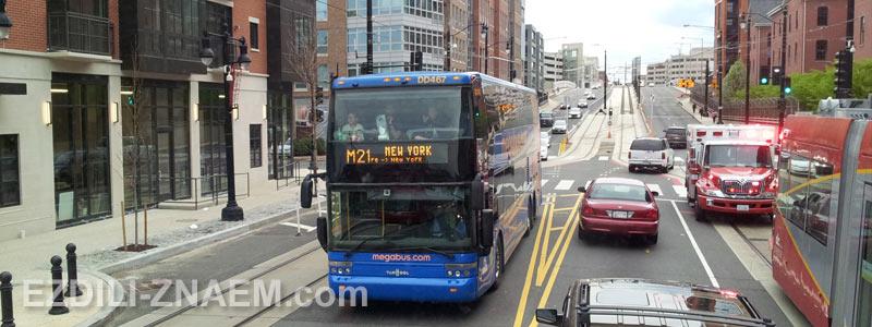Какой транспорт лучше для поездки по США