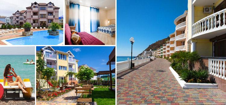 Лучшие гостиницы Крыма