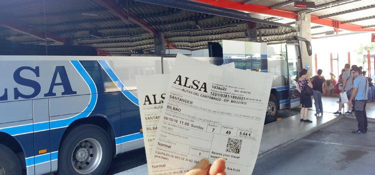 Как купить билет на автобус ALSA в Испании. Подробная инструкция