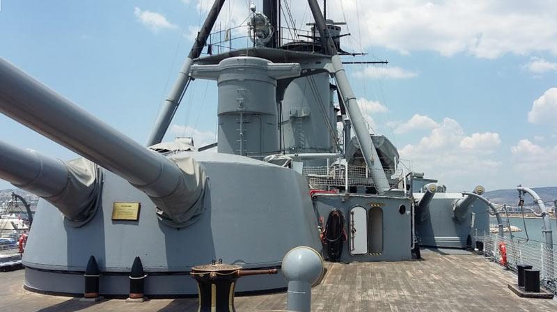 Броненосный крейсер «Георгиос Авероф», Греция