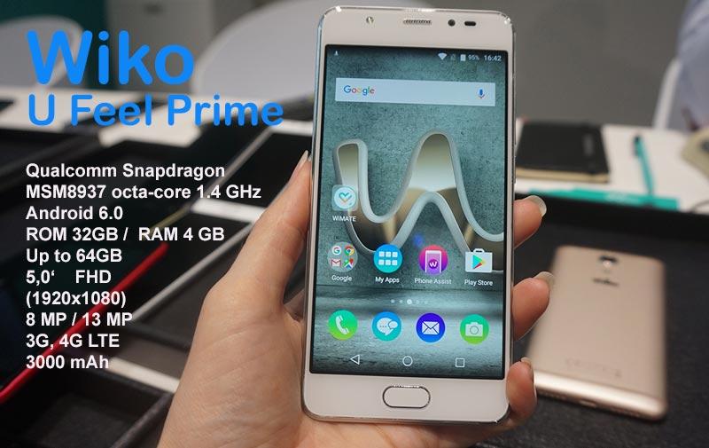 Смартфон Wiko U Feel Prime в Таиланде