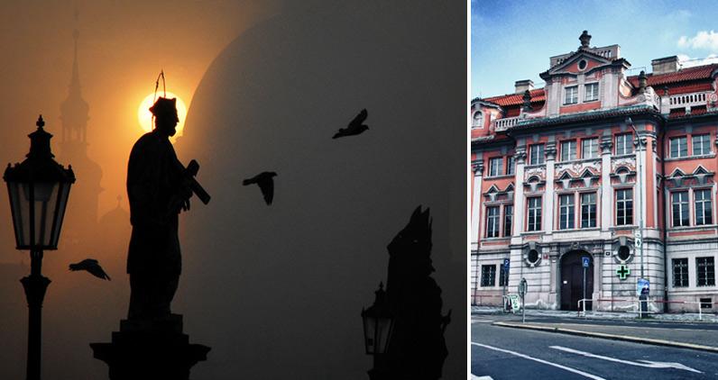 Прага и Дом Фауста