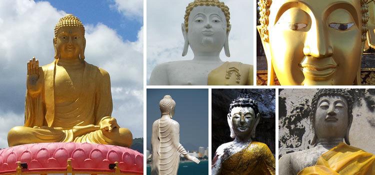 Как выглядит Будда в Таиланде