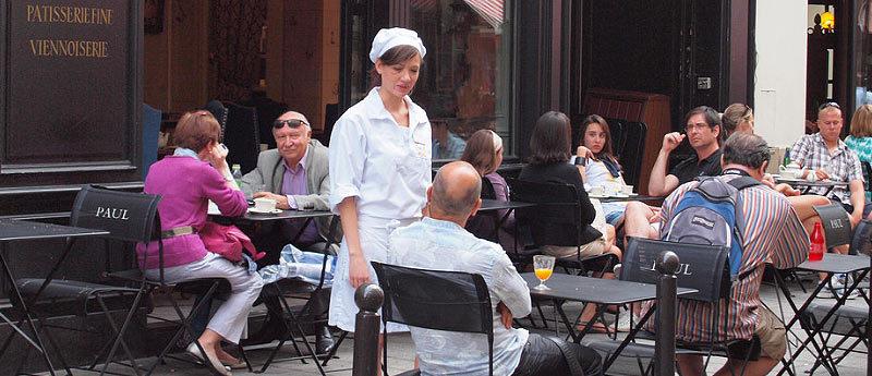 Туристы с обслуживающим персоналом