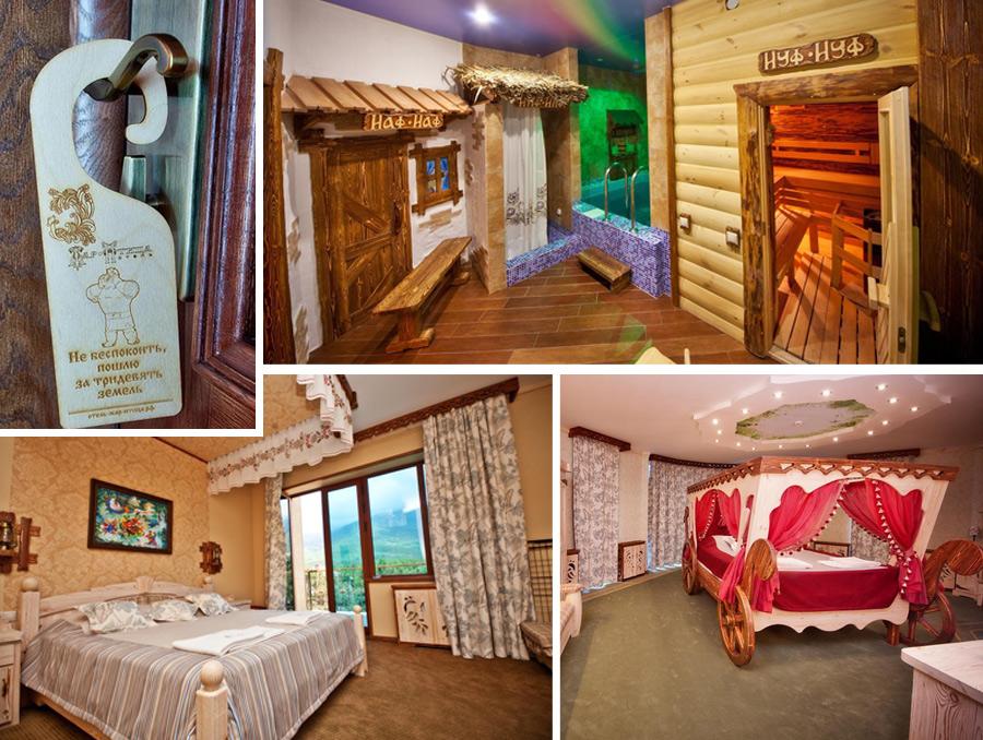 Сказочный отель Жар-Птица для отдыха с детьми в Геленджике