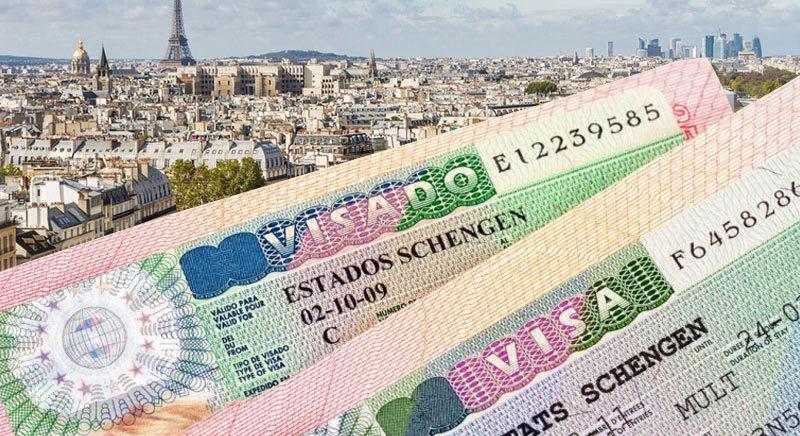 Покажите все предыдущие шенгенские визы