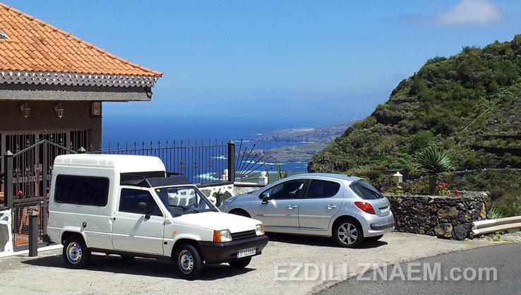 На арендованном автомобиле - вокруг Тенерифе