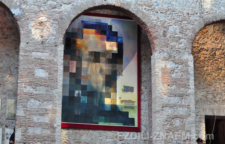 Картина в картине в музее Дали