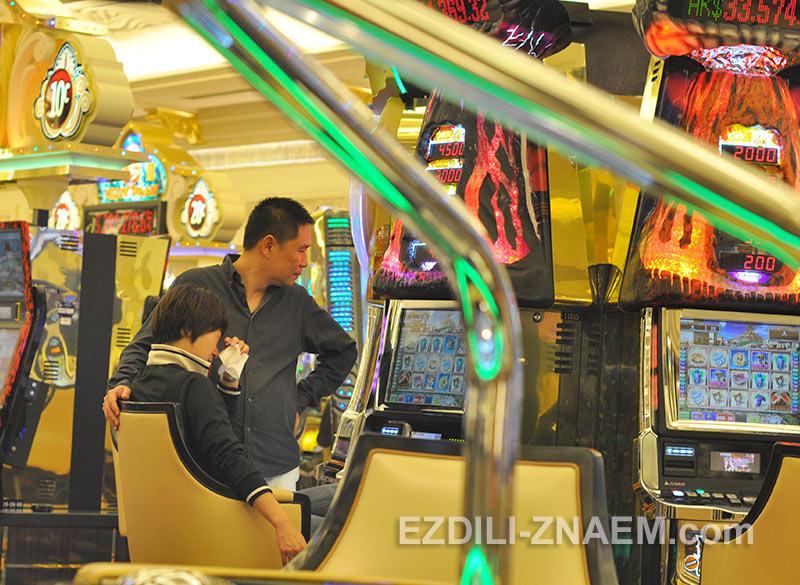 китайские туристы проигрались в казино Макао
