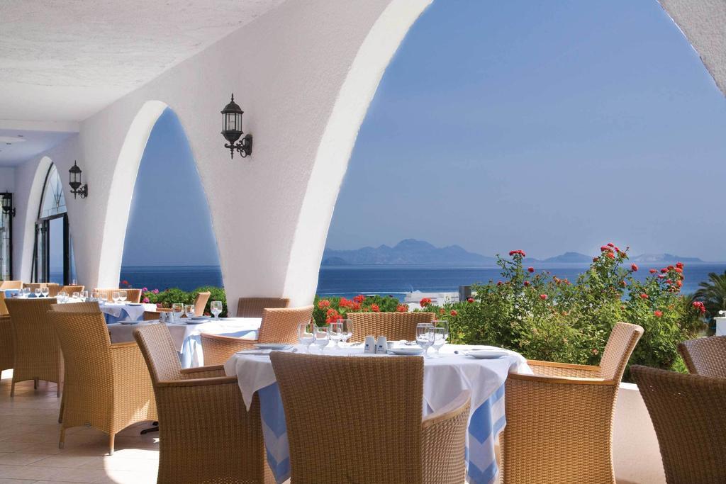 Недорогой отель Mitsis Norida Beach с аквапарком, остров Кос