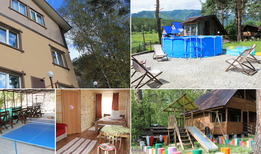 Manor Altyn Torbok -база отдыха на Чемале с бассейном