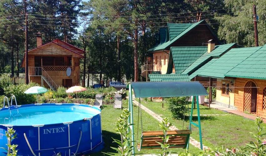 «Авелия» - база отдыха в Горном Алтае с бассейном