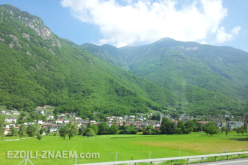 На автобусе по Италии и Швейцарии