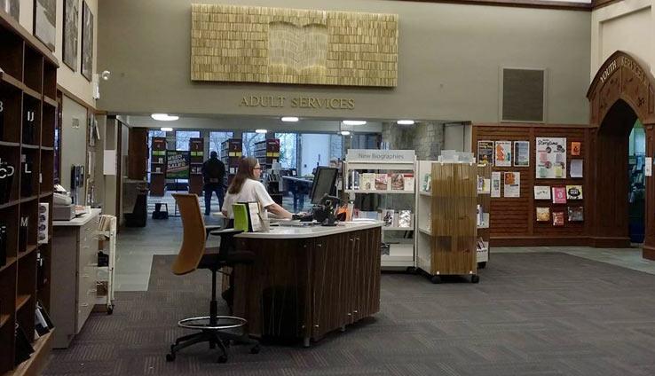 Библиотека в Чикаго