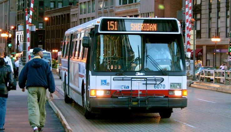Общественный транспорт в Чикаго