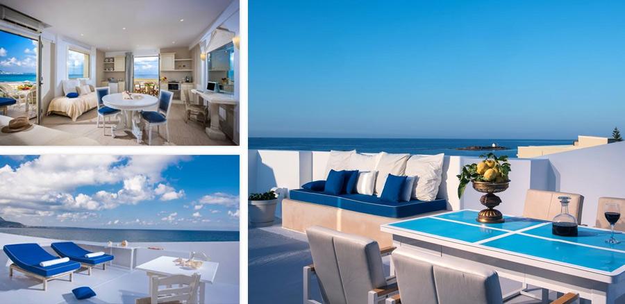 Отдых в Греции, отель Parthenis Beach на Крите, без звезд
