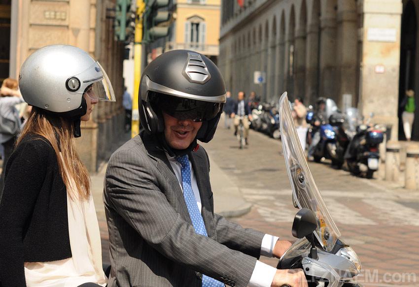 На улицах Милана