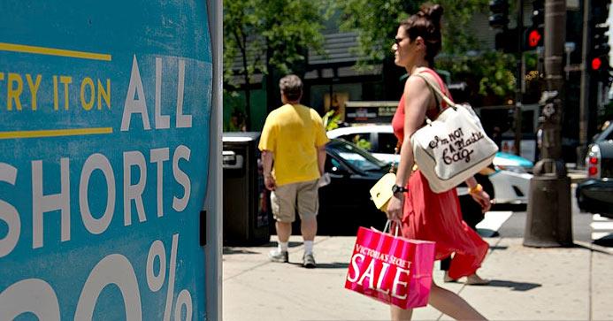 Распродажи в Чикаго