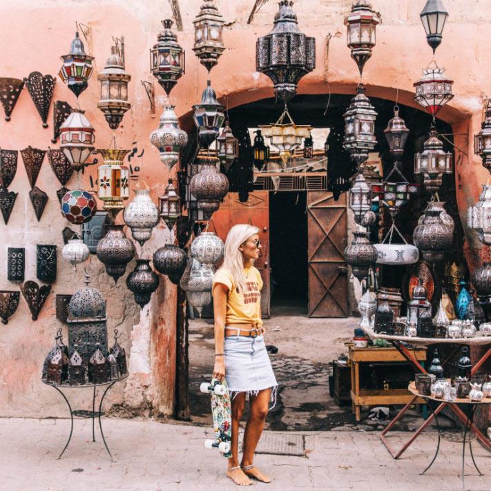 Рынок в Марракеше