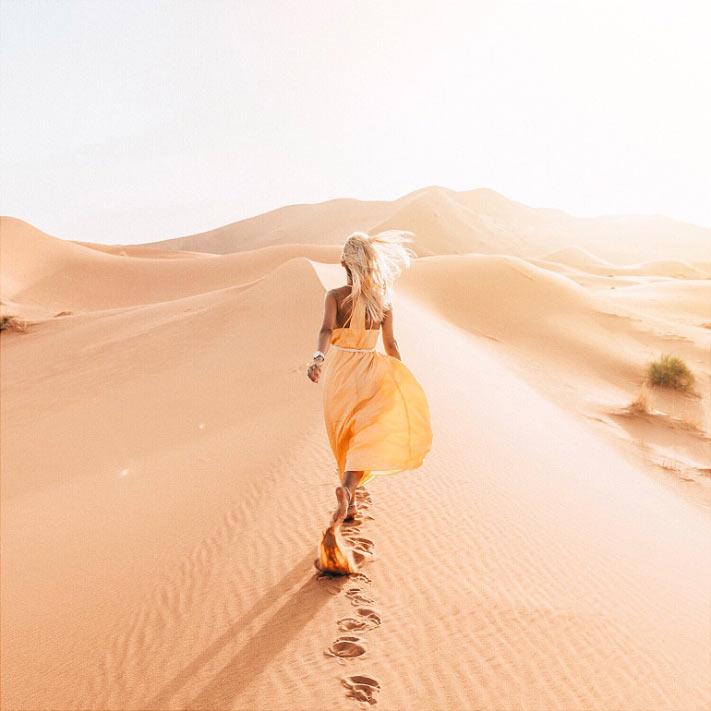 Прогулки в пустыне Сахара