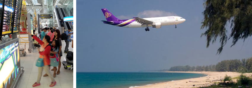 Авиаперелет в Таиланд