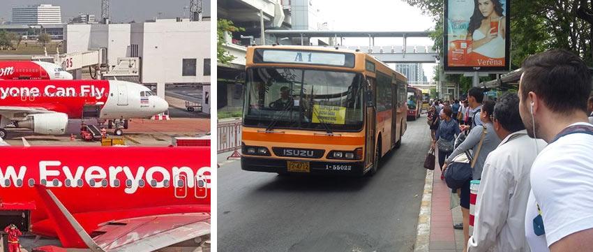 Как доехать в аэропорт Дон Муанг в Бангкоке