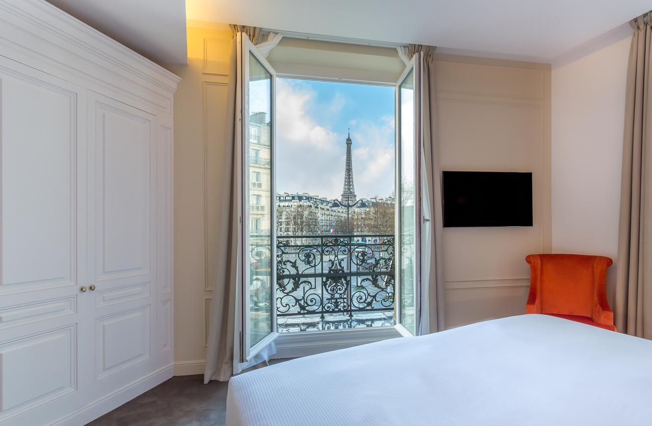 Отель La Comtesse находится в здании XIX века