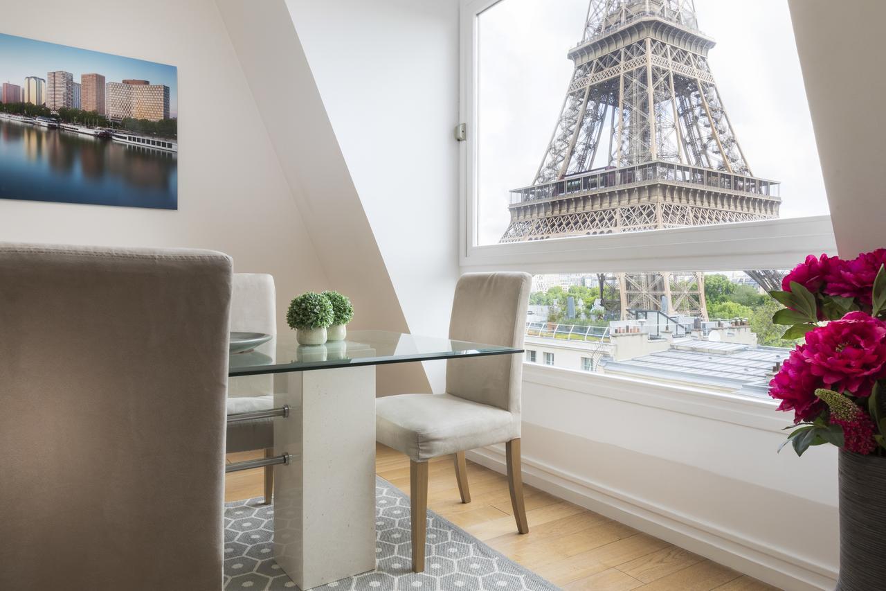 Апартаменты в Париже с видом на Эйфелеву башню