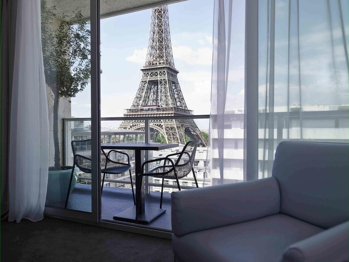 Pullman - современный отель с отличным видом на Париж