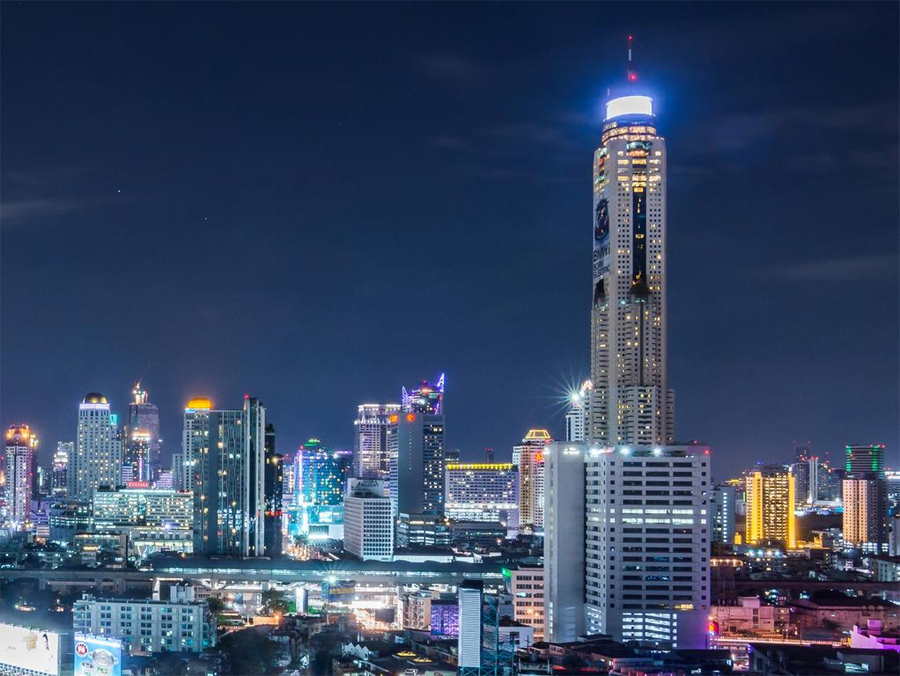 Baiyoke Sky Hotel - самый высокий отель в Бангкоке