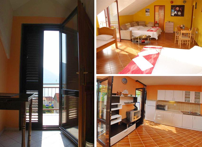 Апартаменты в Черногории для отдыха с детьми