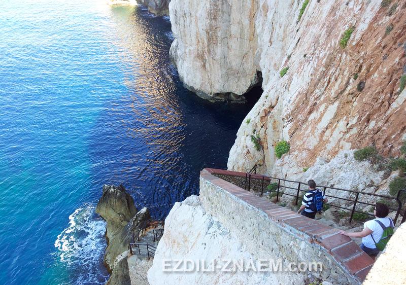 Грот Нептуна в Альгеро, Сардиния