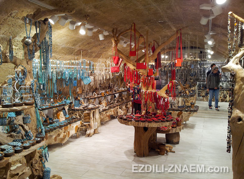 Магазин с украшениями из кораллов, Альгеро