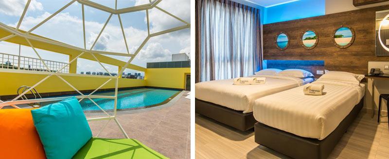 """отличный бюджетный отель почти в центре Сингапура - Отель """"Fragrance Hotel - Selegie"""""""