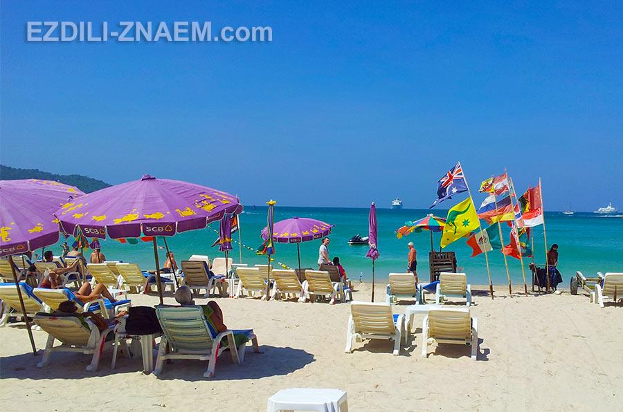 самый бесбашенный и шумный из пляжей Пхукета: Патонг